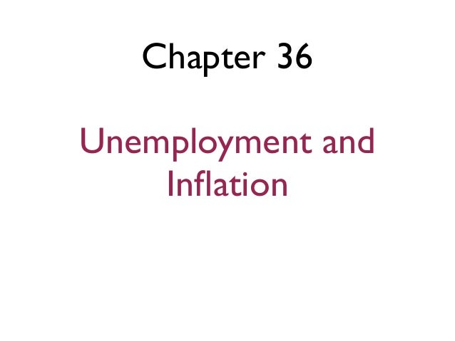 Chapter 36 ! Unemployment and Inflation