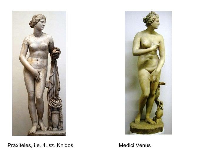 Praxiteles, i.e. 4. sz. Knidos Medici Venus