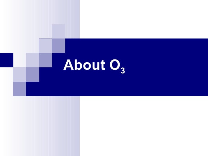 About O3