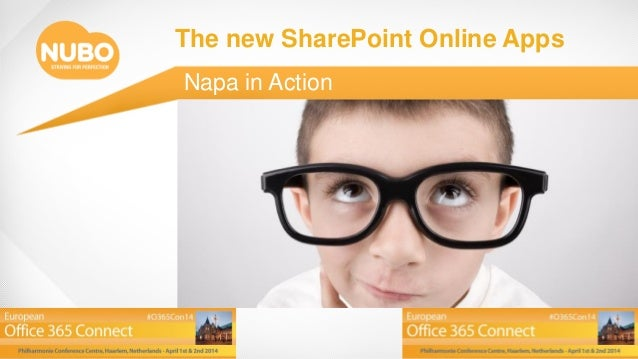 O365con14 - the new sharepoint online apps - napa in action