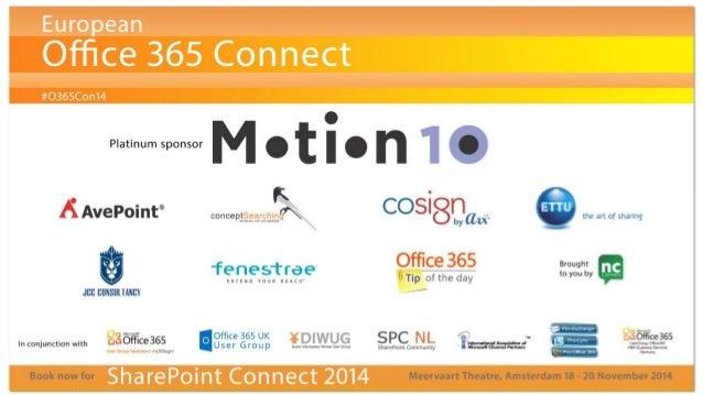 O365con14 - the value of power bi