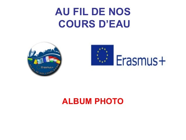 AU FIL DE NOS COURS D'EAU ALBUM PHOTO
