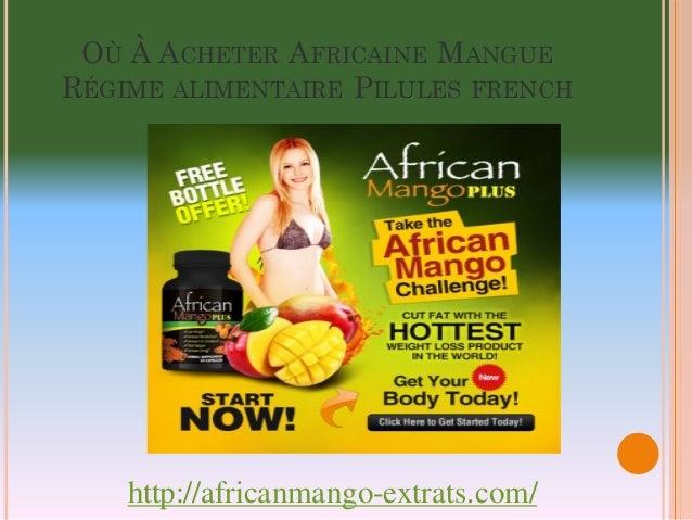 Où À Acheter Africaine Mangue Régime alimentaire Pilules