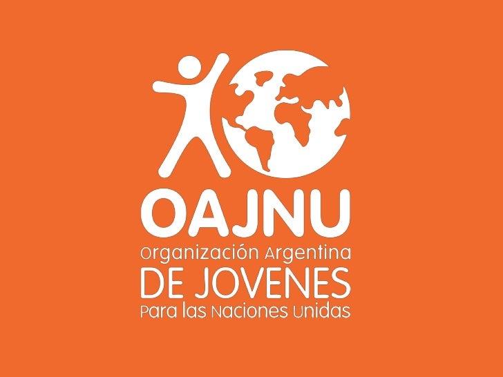 Quiénes somos Una  ONG, sin fines de lucro, apartidaria,  pluralista, creada y liderada por jóvenes  voluntarios. Realiza...