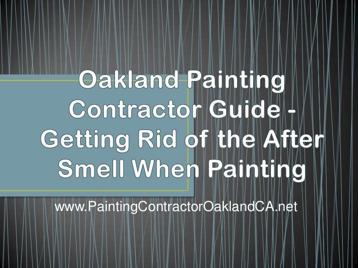 www.PaintingContractorOaklandCA.net