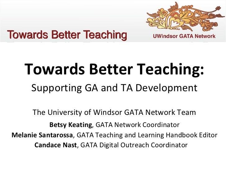 GATA Network - Oakland Windsor Conference, 2011