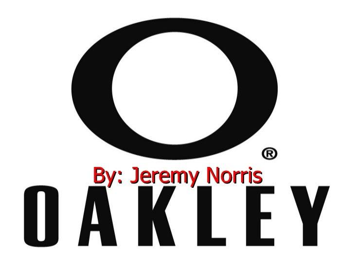 Oakley jeremy norris