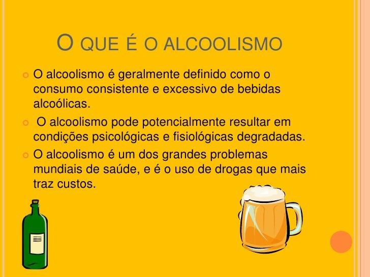 Se dar uma injeção do alcoolismo