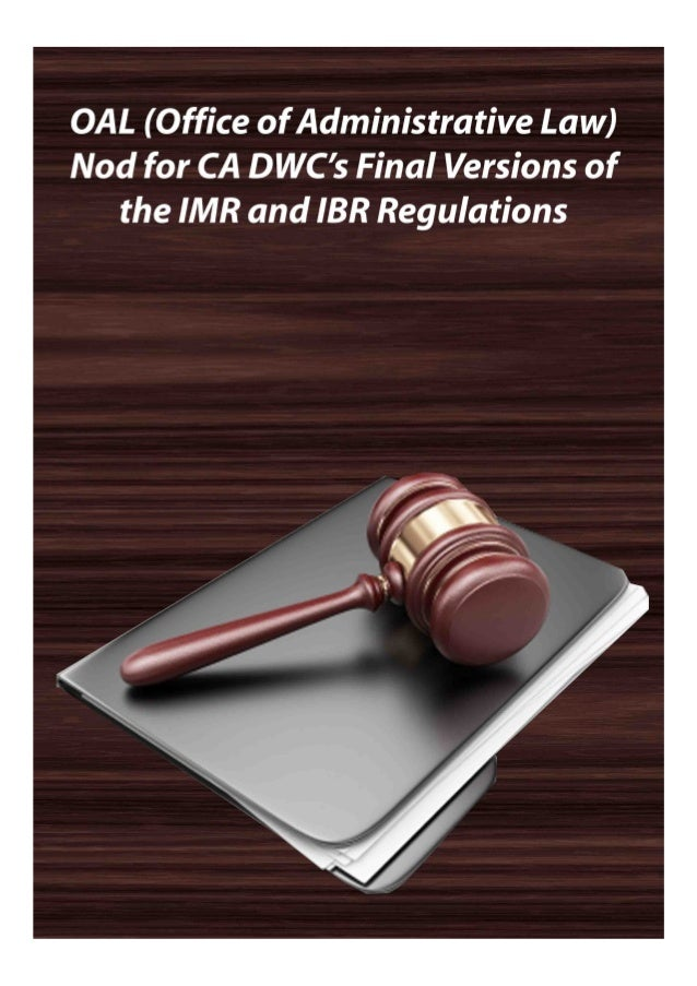 http://www.mosmedicalrecordreview.com/ 1-800-670-2809 OAL (Office of Administrative Law) Nod for CA DWC's Final Versions o...