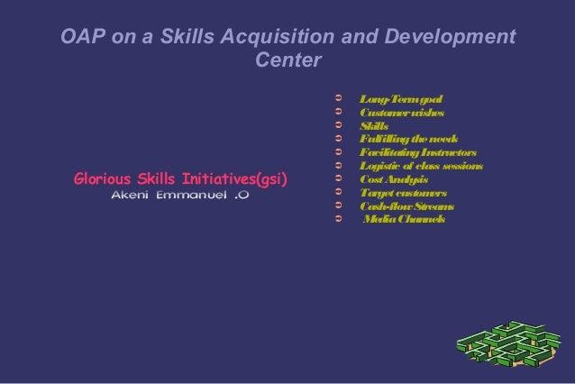 Glorious Skills Initiatives