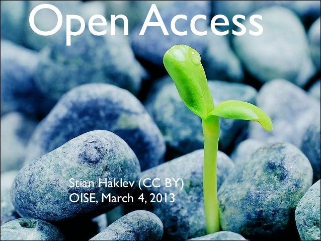 Open Access 2014