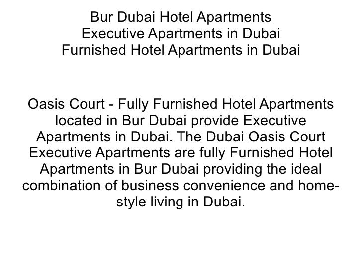 Oasis Court Hotel Apartments Dubai Bur Dubai Hotel Apartments