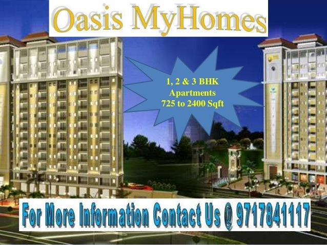 1, 2 & 3 BHK Apartments 725 to 2400 Sqft