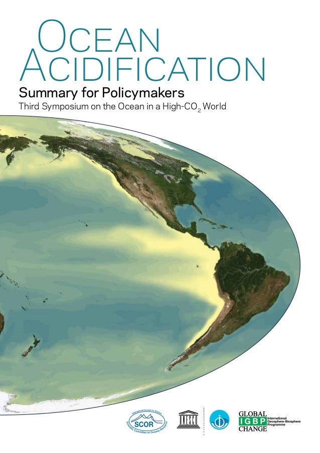 Ocean Acidification Summary for Policymakers  Third Symposium on the Ocean in a High-CO2 World