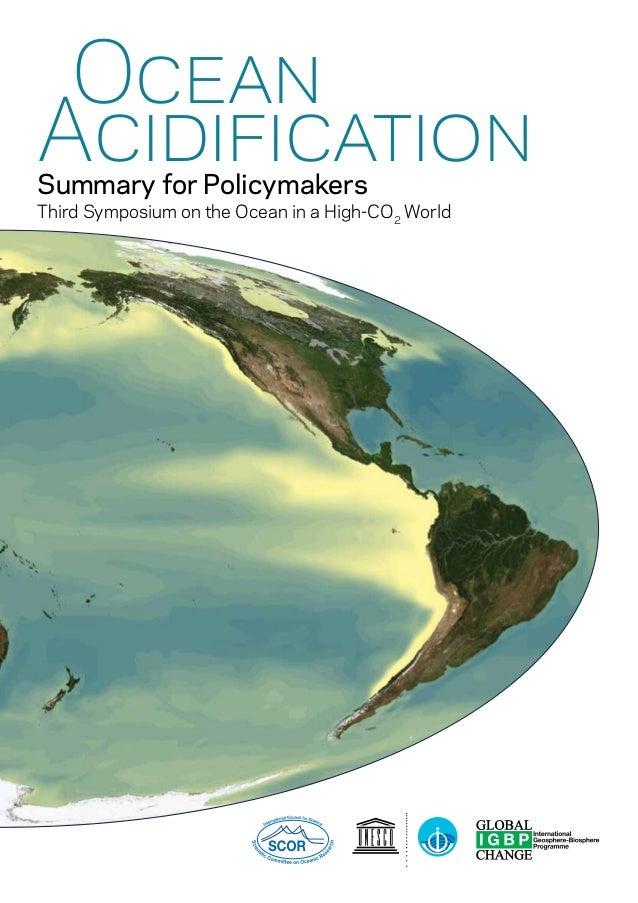 L'acidification des océans / IGBP, IOC, SCOR