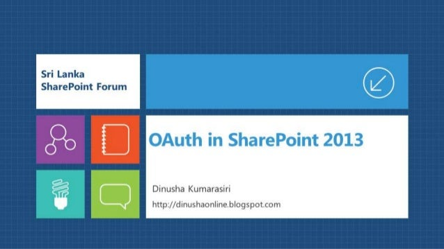 OAuth in SharePoint 2013