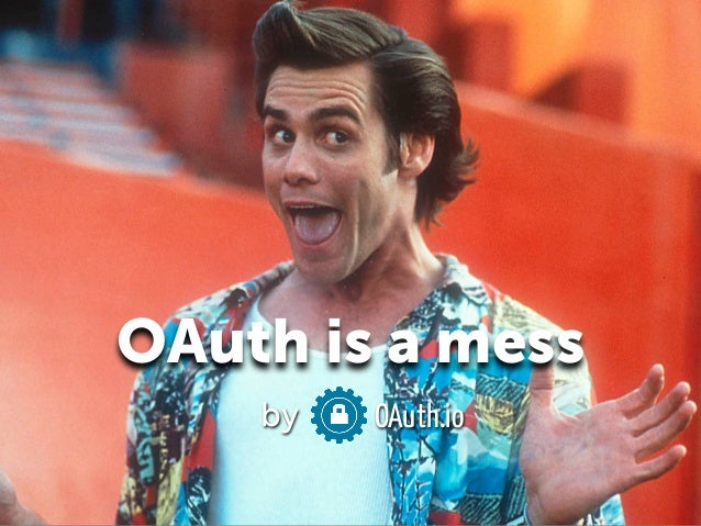 OAuth is a mess!