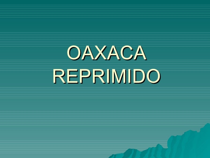 Oaxaca estamos listos