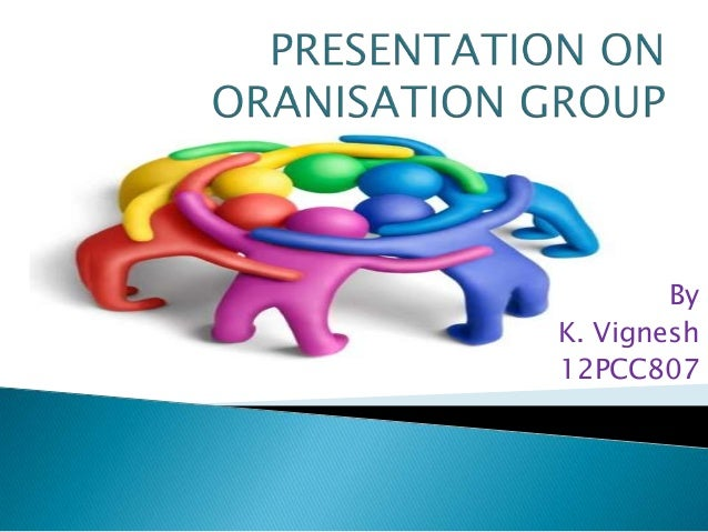 organisational behaviour- groups