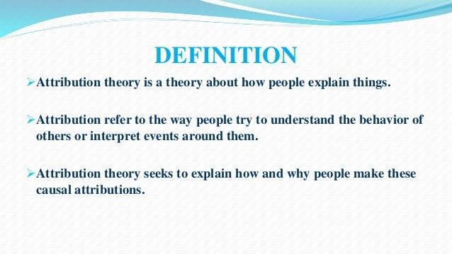 Causal theory