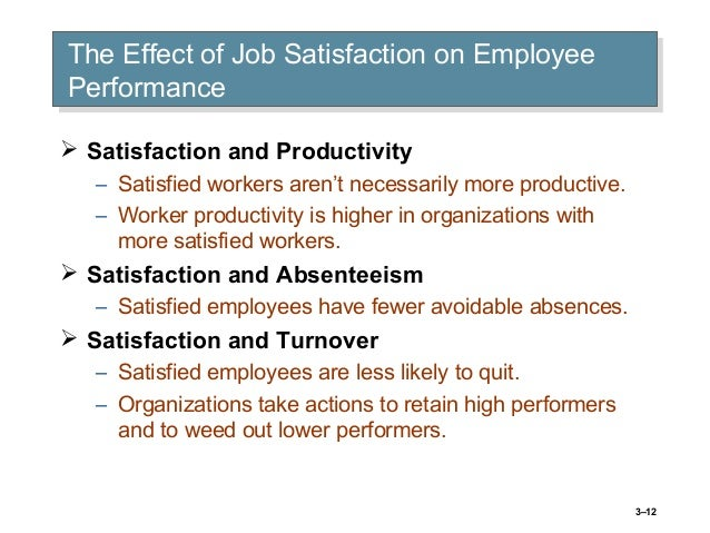 Free research papers on job satisfaction