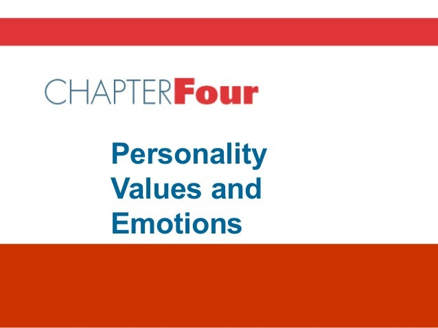 Personality Values and Emotions