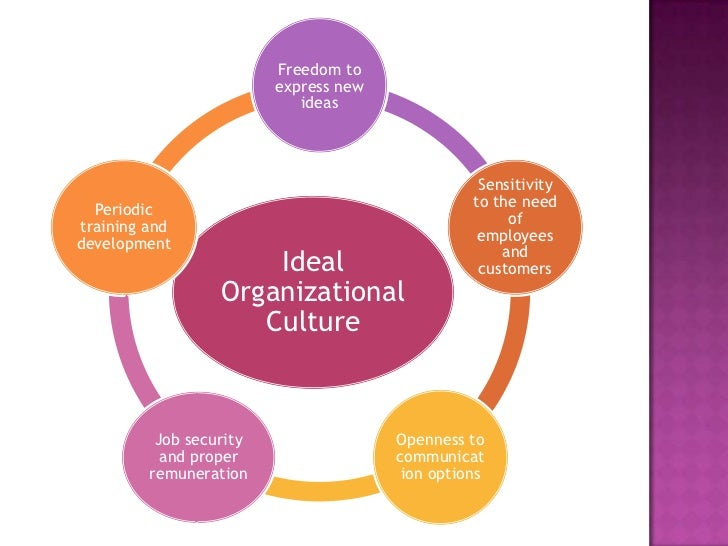 organiztional culture The objective of this research was to analyze the organizational culture of a  brazilian public hospital it is a descriptive study with quantitative approach of  data,.