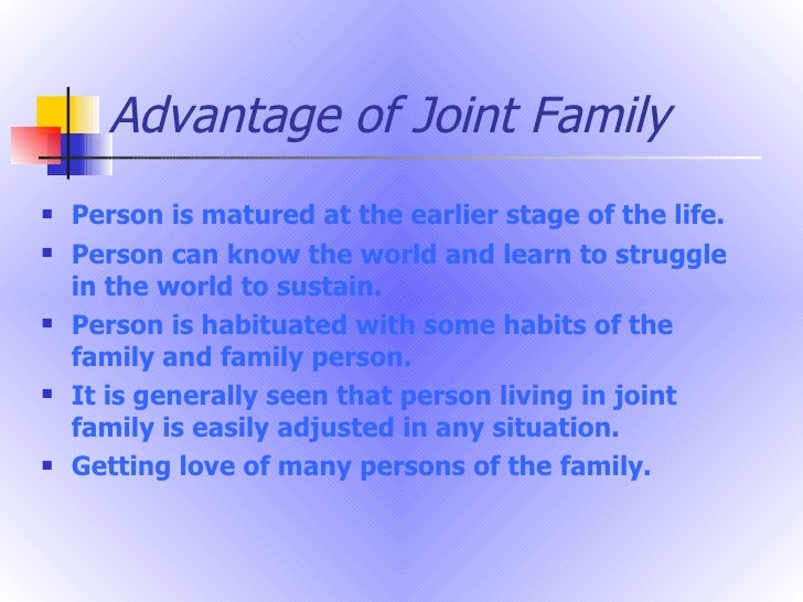 nuclear family advantages essay