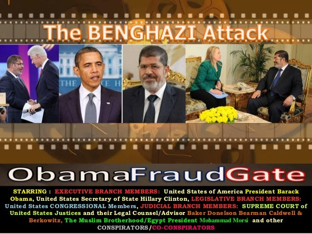 ObamaFraudGate - The Benghazi COVER-UP