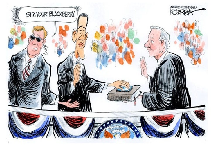 Obama Inauguration Cartoons