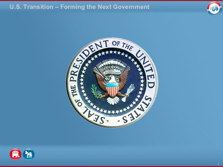U.S. Transition – Forming the Next Government