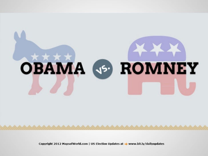 Obama or Romney - An Infographic PDF - Crisp And Non-biased
