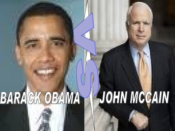 Barack Obama Vs John Mccain