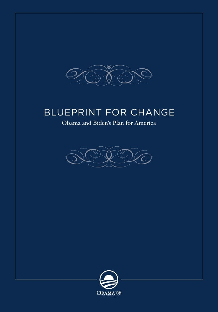 Blueprint for Change: Obama\'s plan for America