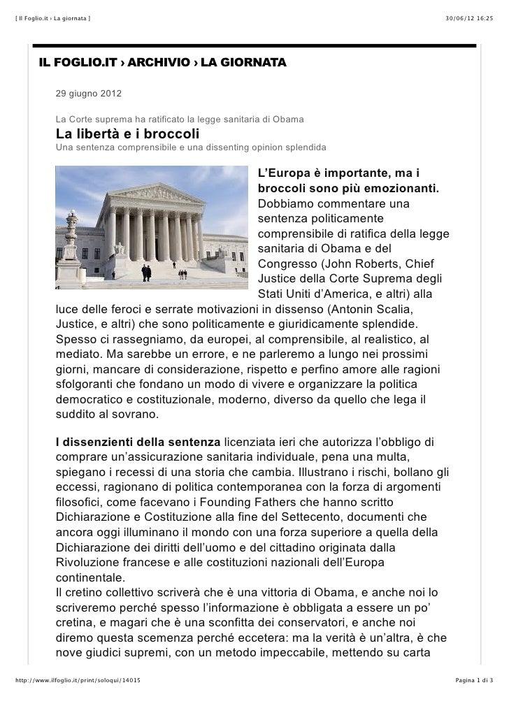 [ Il Foglio.it › La giornata ]                                                              30/06/12 16:25         IL FOGL...
