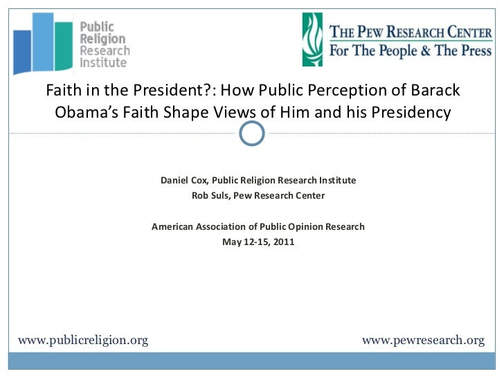 Daniel Cox, Public Religion Research Institute Rob Suls, Pew Research Center American Association of Public Opinion Resear...