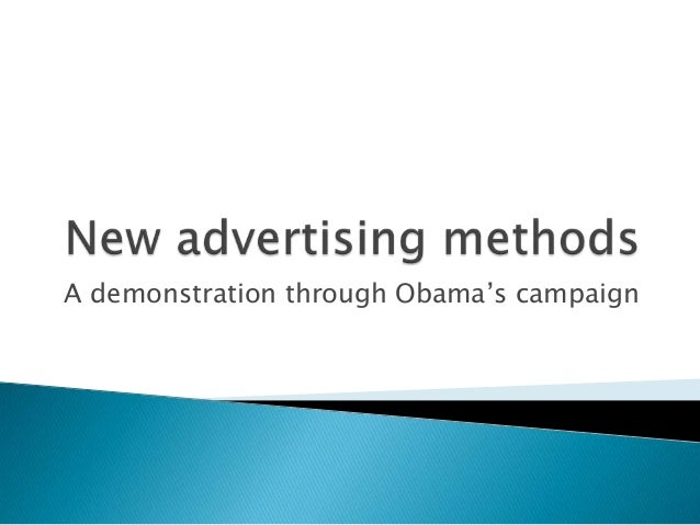 A demonstration through Obama's campaign