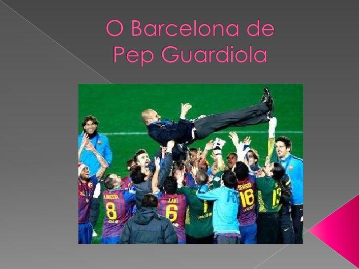 Chega agora ao fim o ciclo de Guardiola no Barcelona. Foram quatro anos     sempre a vencer, 13 títulos conquistados em16 ...