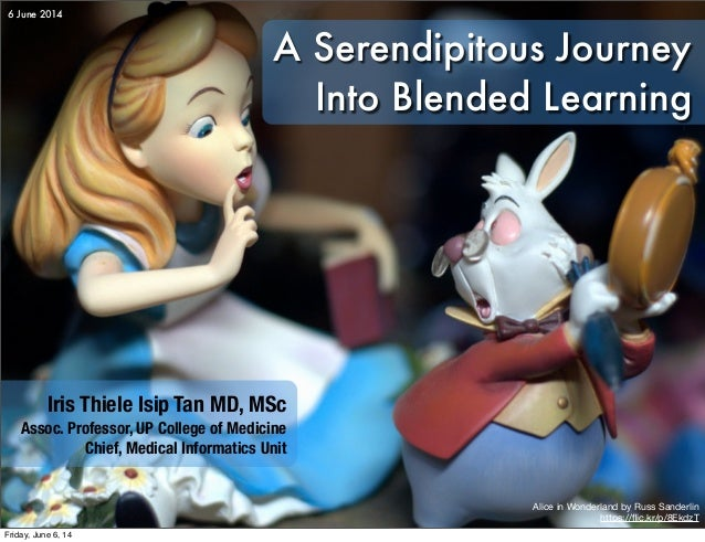 A Serendipitous Journey Into Blended Learning