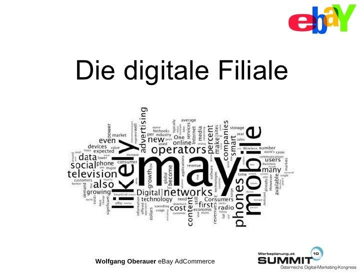 15.07.2010 Track 8 E-Commerce Wolfgang Oberauer eBay Deutschland