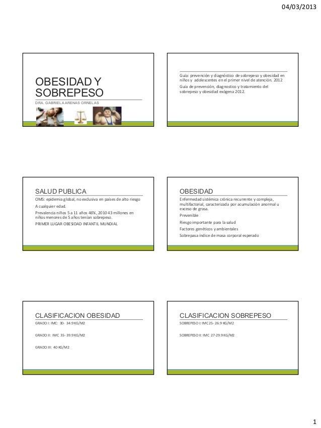 04/03/2013                                                              Guía: prevención y diagnóstico de sobrepeso y obes...