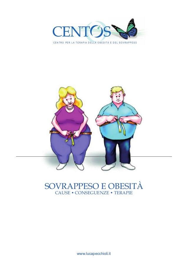 Obesità e Sovrappeso: cause, conseguenze e terapie