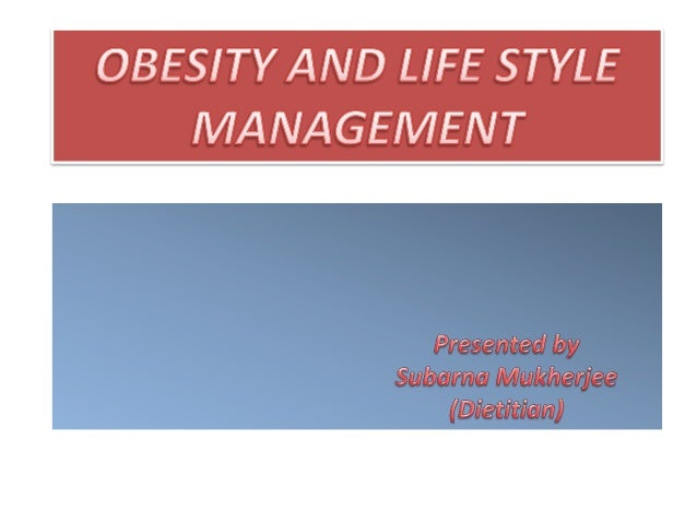 Obesity and lifestyle_management