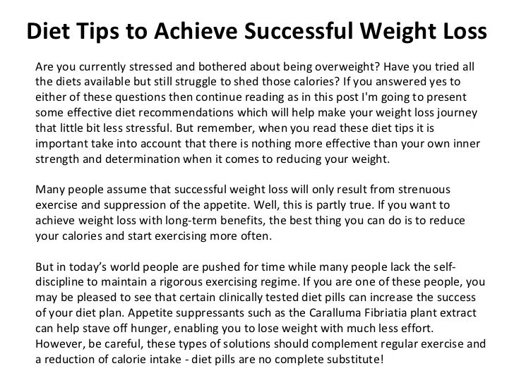 Diet Tips to Achieve Successful Weight Loss Are you currently stressed and bothered about being overweight? Have you tried...