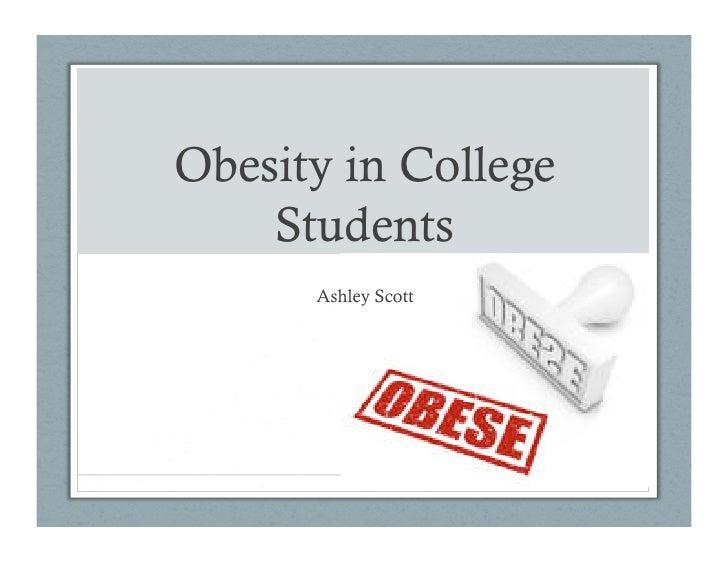 Obesity incollege2