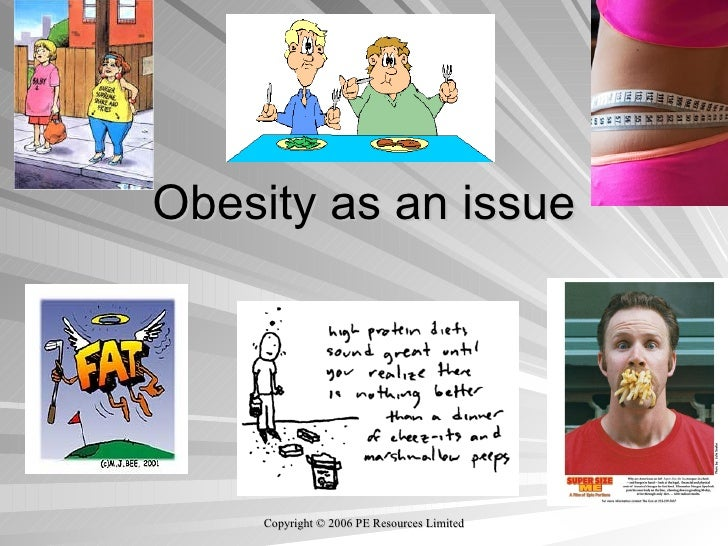 Obesity as an issue