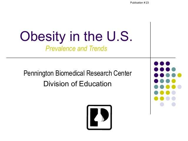 Obesity prevalence