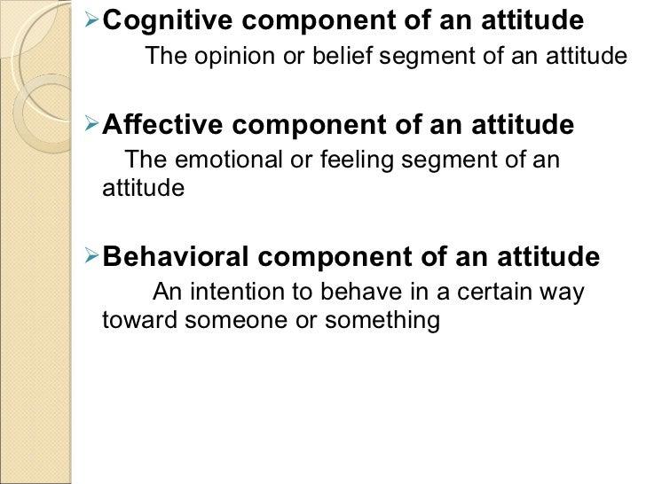 Attitudes and job satisfaction summary