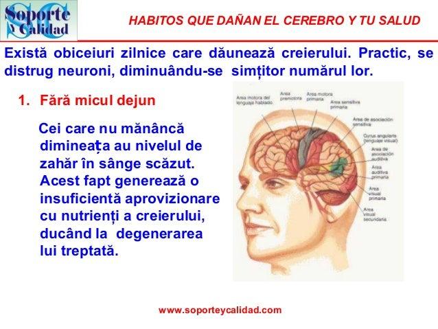 HABITOS QUE DAÑAN EL CEREBRO Y TU SALUDExistă obiceiuri zilnice care dăunează creierului. Practic, sedistrug neuroni, dimi...