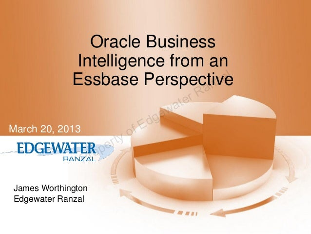 Oracle Business Intelligence (OBIEE) from an Essbase Perspective